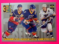 1996-97 UD Collectors Choice 3 Star Selection #329 Wayne Gretzky St.Louis Blues