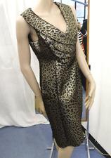 Joseph Ribkoff BNWT UK 10 Elegante Vestido Estampado Animal sensacional & CHAQUETA SET BN