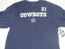 Nfl Dallas Cowboys Ezekiel Elliott Blue T-Shirt X-Large/Xl Nwt