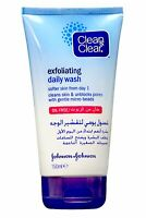 Johnson and Johnson Clean and Clear Exfoliating Daily Wash 150ml