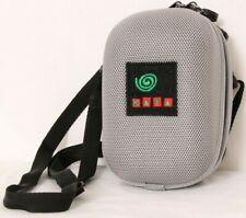 Kata Gray Zip Up Shoulder Strap Belt Clip Small Padded Interior Camera Case