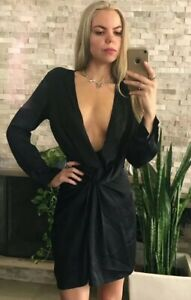 ❤️❤️ Women's LIONESS Size S Black Long Sleeve Dress❤️❤️