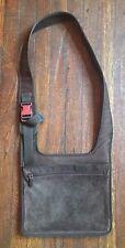 Authentic Miu Miu Suede Messenger Bag Brown Medium Adjustable