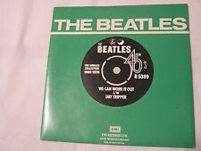 The Beatles 45 & Picture Sleeve from single collection-WE CAN WORK IT OUT/DAY TR