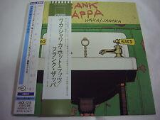 FRANK ZAPPA-Waka/Jawaka JAPAN Press Mini LP CD w/PROMO OBI Mothers Of Invention