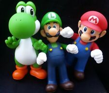 Super Mario Bros-3pcs/set- Mario,Luigi,Yoshi,Collectible, Nintendo Action figure