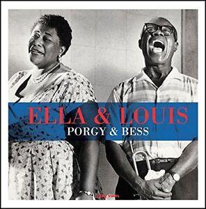 ELLA & LOUIS PORGY & BESS 180g VINYL LP Record Ella Fitzgerald Louis Armstrong