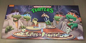 NECA TMNT Teenage Mutant Ninja Turtles in Disguise! 4-pack Target Exclusive