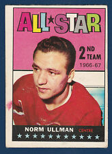 NORM ULLMAN ALL STAR 67-68 TOPPS 1967-68  NO 132 VG+  4070