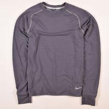 Nike Herren Sweater Sweat Tracktop Gr.M Dri-Fit Running Grau, 54021