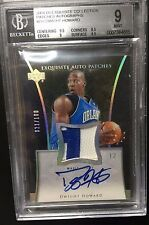 2004-05 EXQUISITE AUTO PATCHES Dwight Howard RC #21/100 BGS 9 (.5 AWAY FROM 9.5)