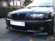 Side flaps for BMW E46 M Sport Front Bumper Lip Spoiler Splitter jaws fangs