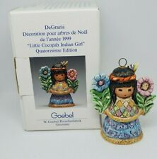 Goebel DeGrazia Annual Ornament 1999 Fourteenth Edition Little Cocopah