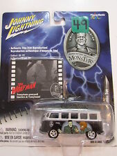 JOHNNY LIGHTNING MONSTERS THE WOLF MAN - '65 VOLKSWAGEN SAMBA BUS