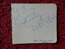 PAUL SCOFIELD - RING ROUND THE MOON - ACTOR  -  AUTOGRAPH