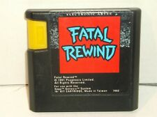 Fatal Rewind (Sega Genesis, 1991)
