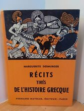 stories from history greek by Desmurger Ed Fernand Nathan 1959