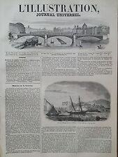 L'ILLUSTRATION 1846 N 198 PRESIDES D' ESPAGNE LA CÔTE AFRICAINE- PLAZA de MELIDA
