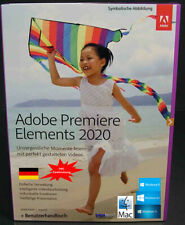 Adobe Premiere Elements 2020 Vollversion 2 Win/Mac + Benutzhandbuch Download NEU