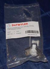 Datwyler 418054 Keystone Module KS-TS 6 Cat.6 RJ45 (350)
