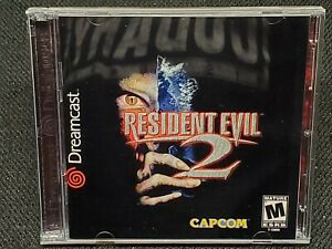 REPRODUCTION Resident Evil 2 (Dreamcast)  Full Manual, No Game