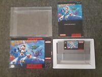 Mega Man X | Super Nintendo | Snes | CIB | Complete In Box | Color Manual