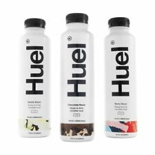 HUEL Ready to Drink Complete Meal Replacement 500ml 20g Meals Carbs **FREE DEL**