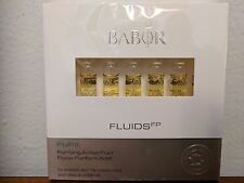 Babor - Fluids FP - Pure - Purifying Active Fluid - 7 Ampoules X 2ml Each - NIB