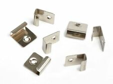 Pack of 50 Starter Clips Composite Deck Fixings WPC Stainless Steel Decking