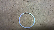 PTFE washer 45mm ID x 50mm OD x 1.25mm thick pack of  5