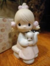 Precious Moments Figurine Scent From above 1986 100528 Skunk Mib