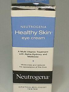 👁️Neutrogena HEALTHY SKIN multi-vitamin EYE CREAM .5oz Alpha-Hydroxy Acid NEW