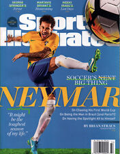 Neymar da Silva Santos Jr. Brazil Soccer - Sports Illustrated 2017