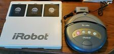 iRobot Roomba 4130 Robotic Vacuum Cleaner With Battery, Charger, Box, manual