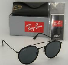 Authentic New Ray-Ban RB 3647N 002/R5 51mm Black Frame Crystal Grey Lenses
