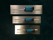 Ox Tools Pro Plaster Finishing Trowels 3 Piece Set