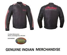 INDIAN MOTORCYCLE - 'RETRO MESH' Jacket - Leather/Mesh - Men's - LARGE (L)
