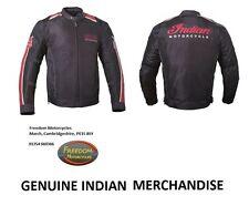 INDIAN MOTORCYCLE - 'RETRO MESH' Jacket - Leather/Mesh - Men's - LARGE (L)