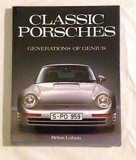 CLASSIC PORSCHES - GENERATION OF GENIUS - BRIAN LABAN - HARDCOVER