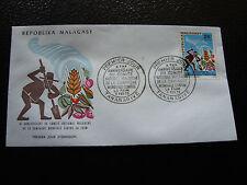 MADAGASCAR - enveloppe 6/2/73 - journee du timbre  - yt n° 515 - (cy6) (Z)