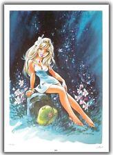 Affiche DANY BD Olivier Rameau Colombe Tirage limité 150ex signé 50x70 cm