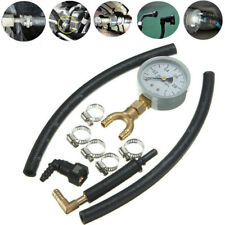 Fuel Pressure Tester Gauge Analogue Gasoline MPa Hose Adapter For Nissan Ford