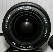 OBIETTIVO TOKINA 28 - 80 mm f / 3.5 - 5.6 PER MINOLTA