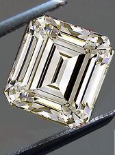 Emerald Cut Moissanite Diamond 4 Ring 2.52 Ct Si2/8.60Mm Near White Loose