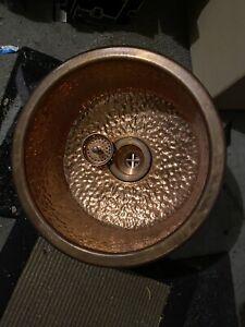 """16"""" Elkay SCF16FBCH copper hand sinks"""
