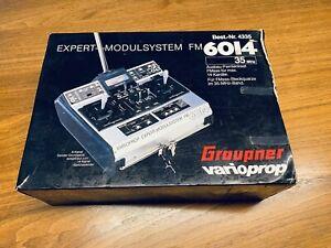 Graupner rarität Varioprop Fernsteuerung FM6014