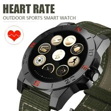Smart Watch Tactical Thermometer Altimeter Barometer Heart Rate Fitness Tracker