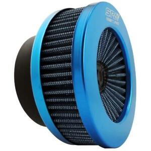 """Universal Intake Air filter Turbo Charger Induction Guard 3"""" - Blue"""