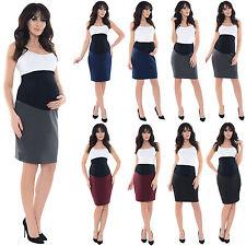 Purpless Maternity Pregnancy Workwear Formal Pencil Skirt Skirts1504
