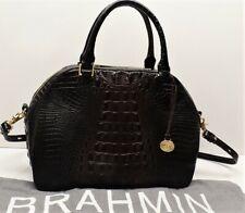 Brahmin Camden Leather Satchel Handbag  - $345